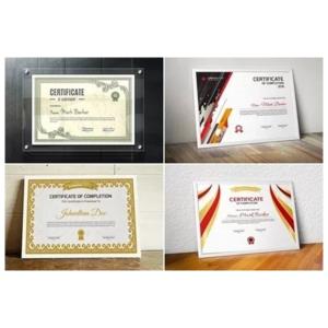 Pack De Vectores Editables Imprimibles Diplomas Certificados