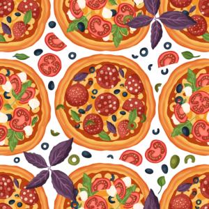 Paquete de Vectores Pizza Pack