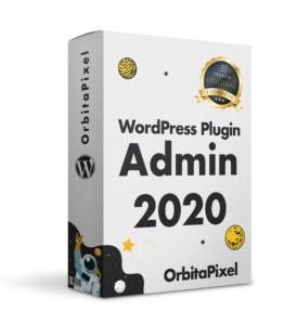 Plugin WordPress Dashboard Admin 2020