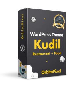 Tema WordPress Kudil Restaurantes & Delivery