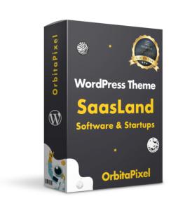 Tema WordPress Saasland Multipropósito Startups