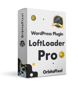 LoftLoader Pro Customiza Preloader
